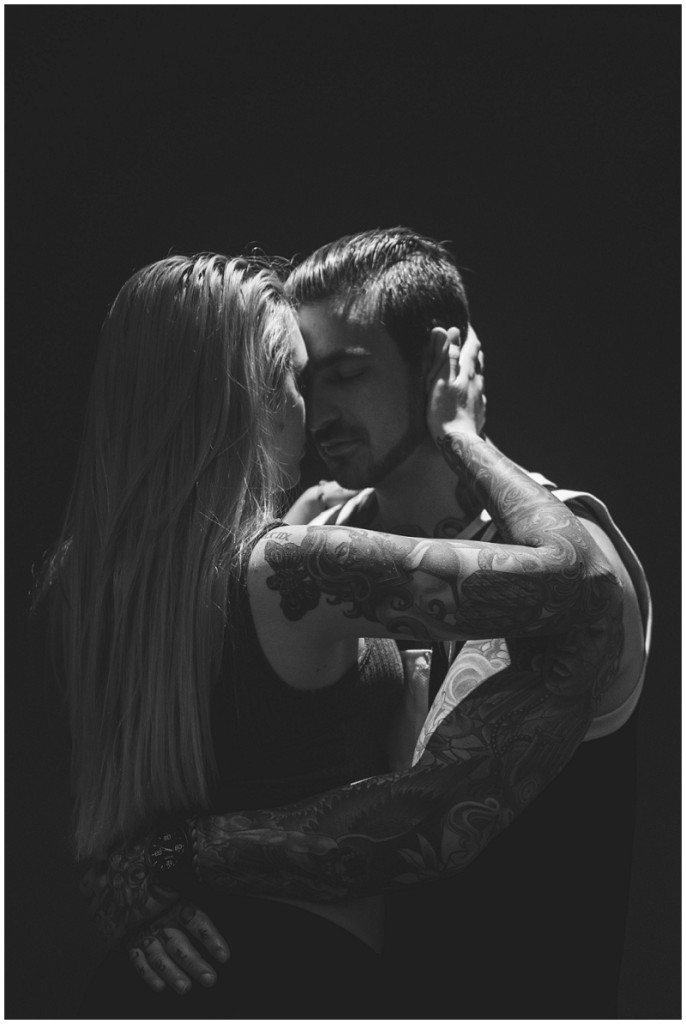 off camera flash, tattooed couple, inked couple, get lit workshop