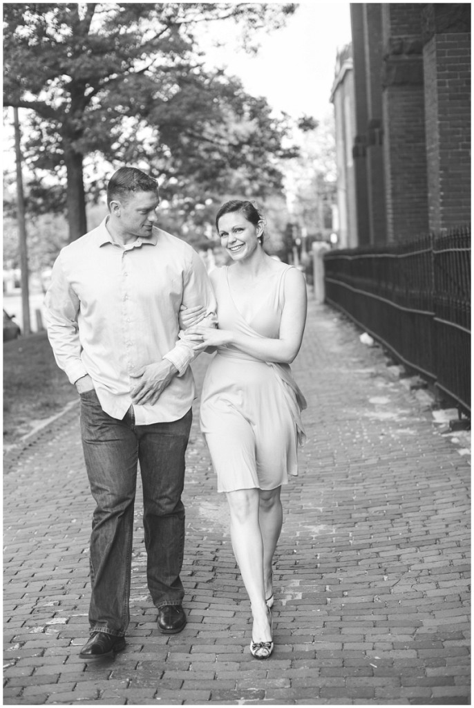 old port engagement photos