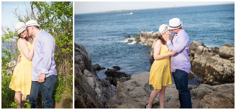 fort williams engagement session