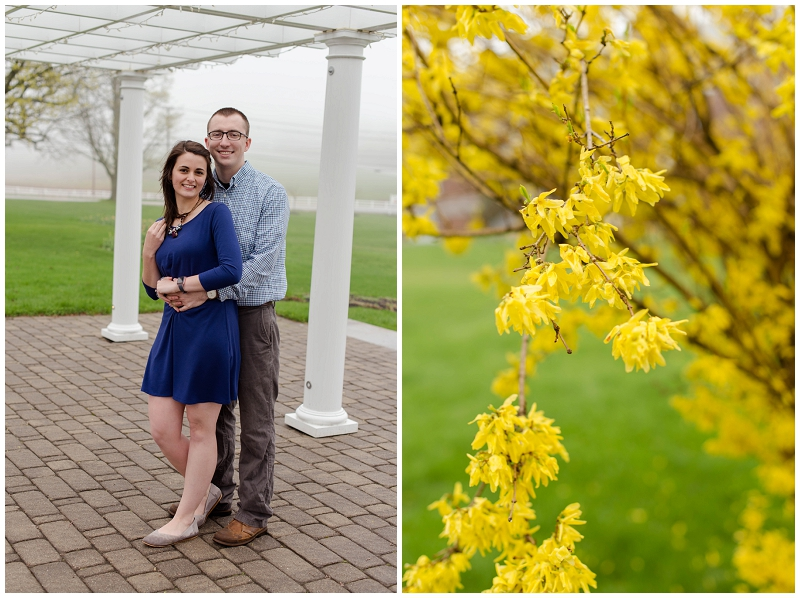 Pineland Farms Engagement Session by Linda Barry Photography
