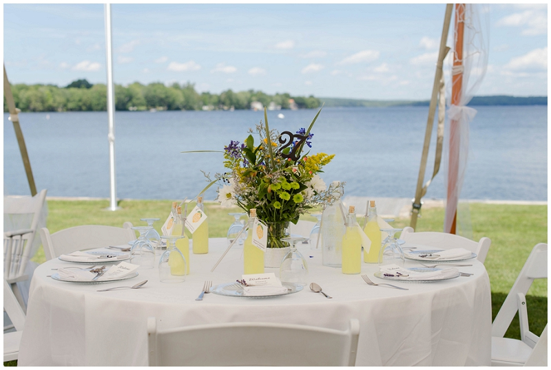 Lakehouse wedding photos by Linda Barry Photography. Click here to see more images from Megan and Ben's wedding on the water!