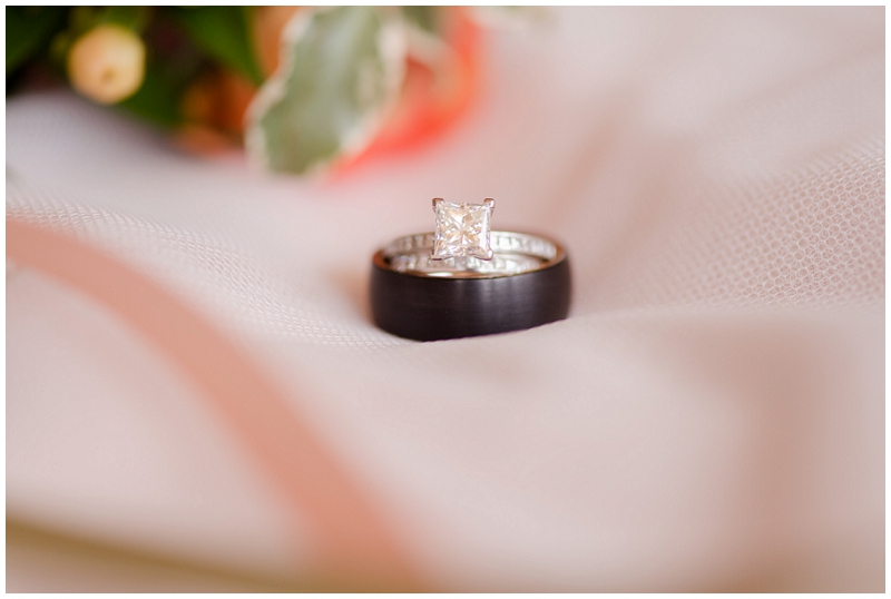 Emily and Nick were married at Stone Mountain Arts Center. Click here to see more wedding images by Linda Barry Photography. Brilliant earth wedding rings.