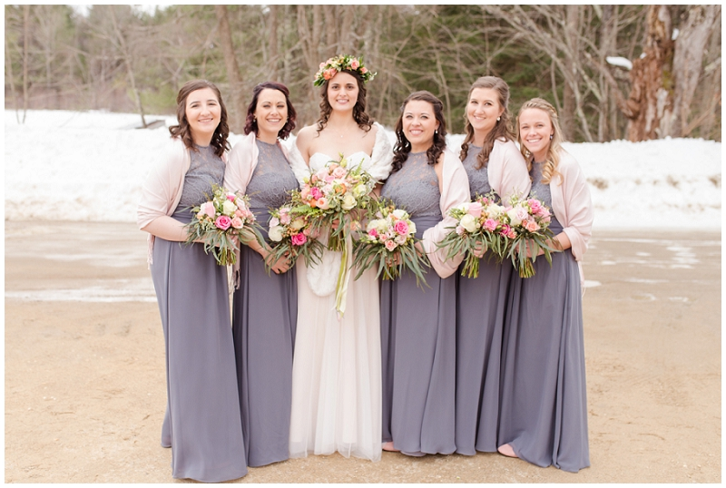 Emily and Nick were married at Stone Mountain Arts Center. Click here to see more wedding images by Linda Barry Photography. Wedding party photos.