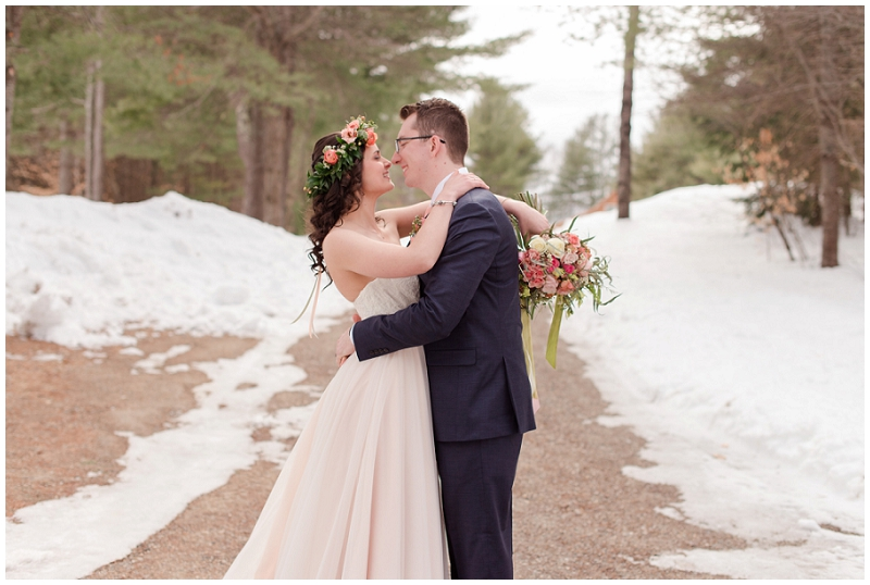 Emily and Nick were married at Stone Mountain Arts Center. Click here to see more wedding images by Linda Barry Photography. Bride and groom portraits.