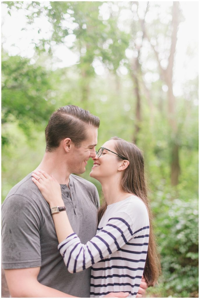 Halibut Point State Park rainy engagement session by Linda Barry Photography. See more photos here!