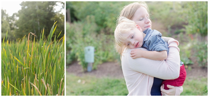 Fort Williams Children's Garden family photo session by Linda Barry Photography.