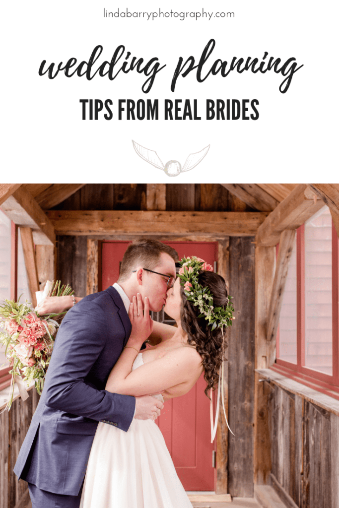 Here are tips for planning your wedding from REAL brides who have just been through the process!