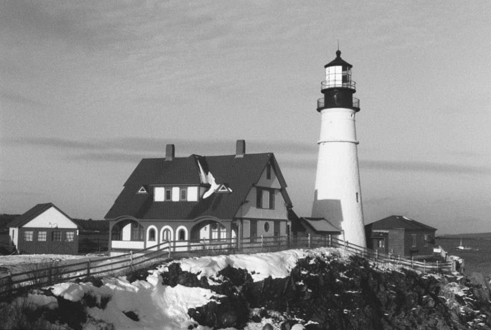 portland head light on my first roll of film