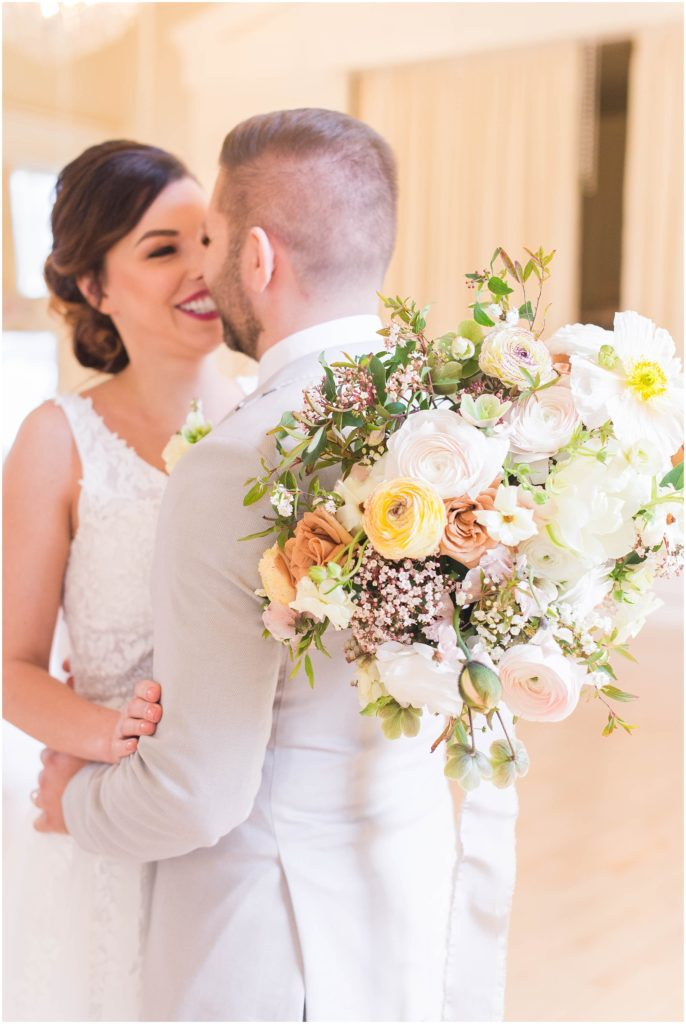 Look at this beautiful bridal bouquet! Linda Barry Photography, boston wedding photographer