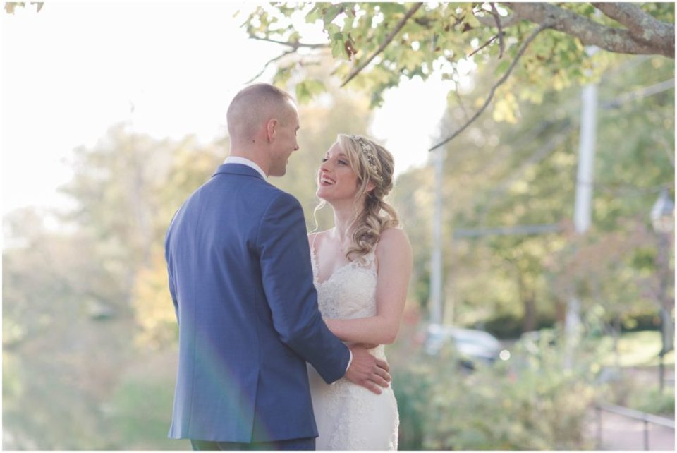 bride and groom portraits during this wedding at the Dan'l Webster Inn
