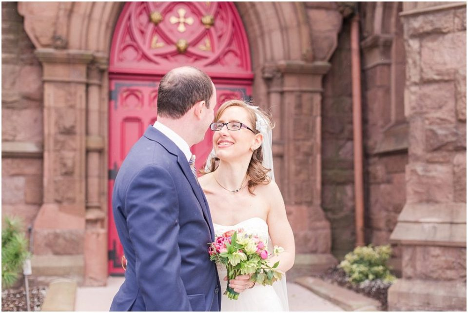 Emily and Matt had a beautiful spring day for a hillstead museum wedding.