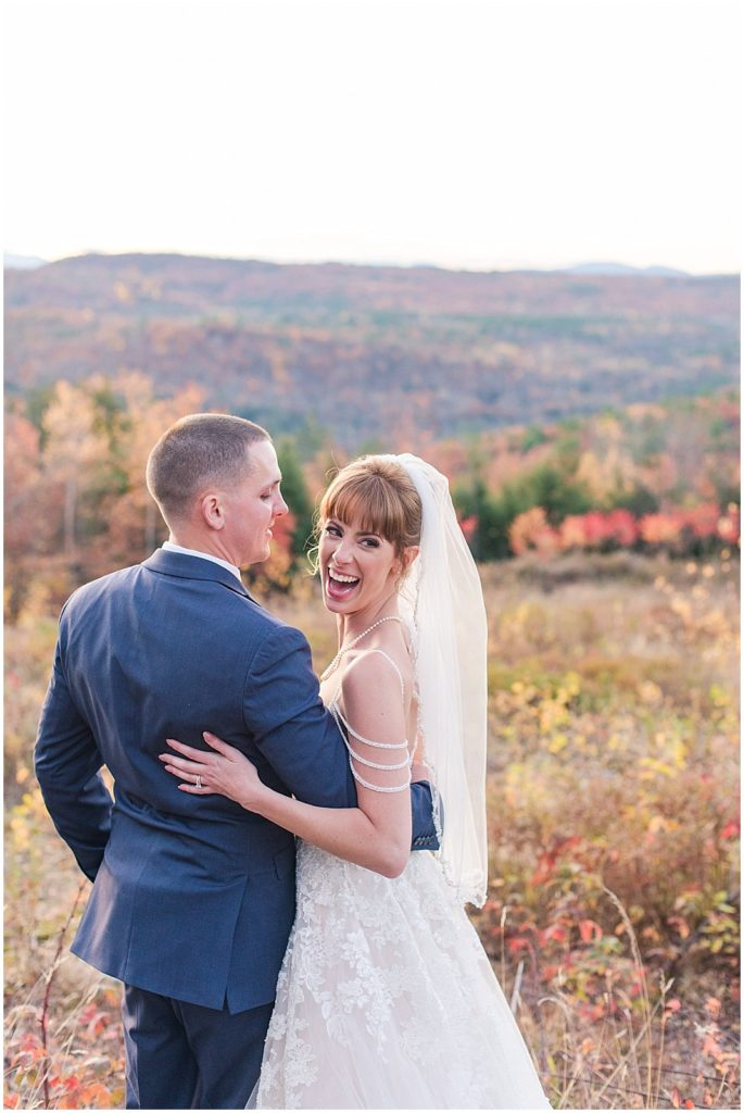 Fall wedding photos at Granite Ridge Estate.
