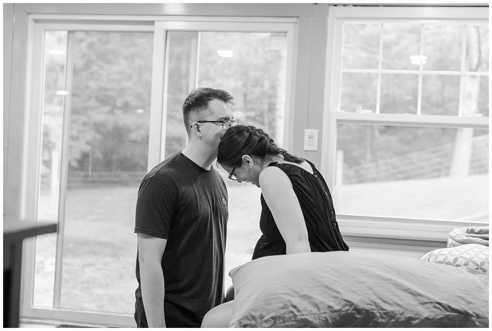 southern maine home birth photography