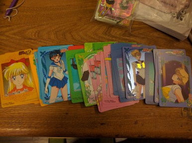 Sailor Moon mat stickers