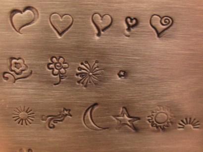 Hearts flowers solar
