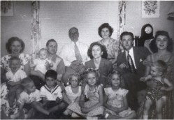 My grandparents and family