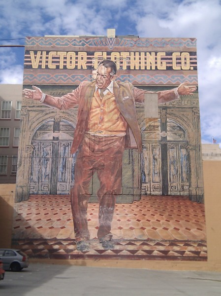 Downtown los angeles linda frye burnham for Anthony quinn mural