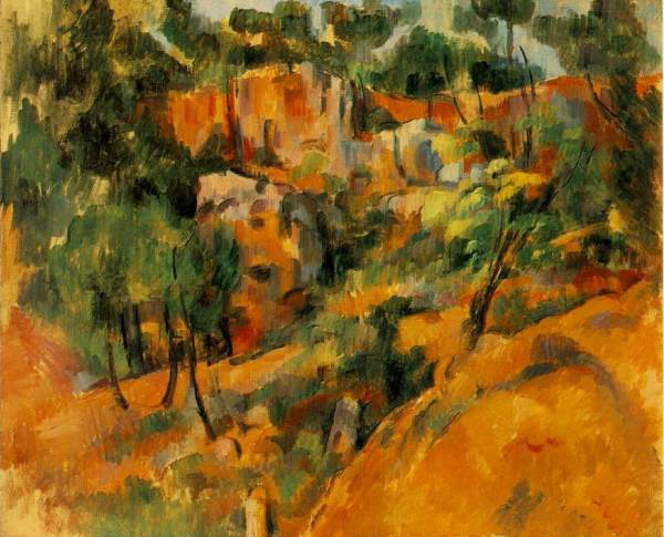 "Paul Cezanne, ""Corner of Quarry"" (1902)"