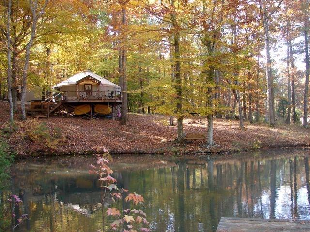 yurt pond