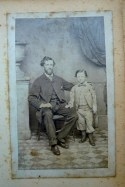 1864.Earliest Known Photo of WBC age about 32 with his first born William