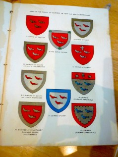1906 H C Lawlor History Family Crests