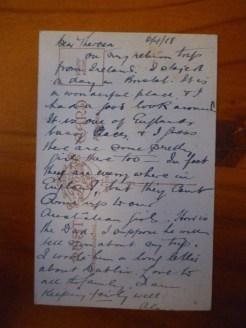 Feb 27 1916 Egypt from Jack Elvins - grandson