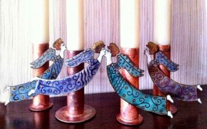 Angel-Candlesticks