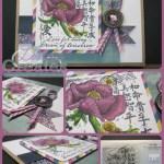 Japanese Flower Collage WM