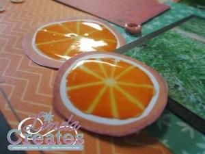 Taste of Summer Orange You Sweet Layout National Scrapbooking Month Linda Creates ~ Linda Caler www.lindacreates.com www.lindacreates.ctmh.com