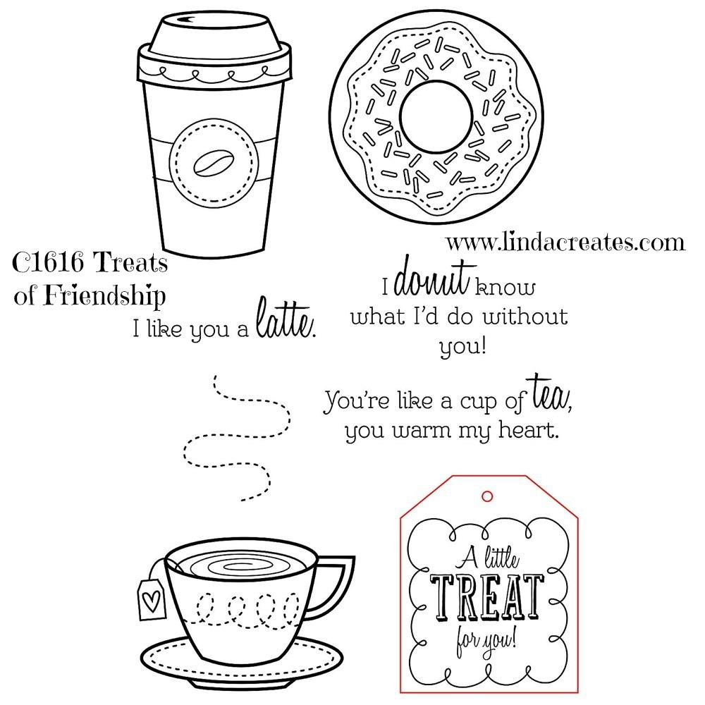 Donut Gift Pop-Up Card Close To My Heart Cricut Artfully Sent Linda Creates ~ Linda Caler www.lindacreates.com