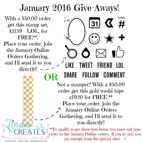 Jan 16 Giveaways
