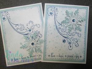 snowflake cards wm