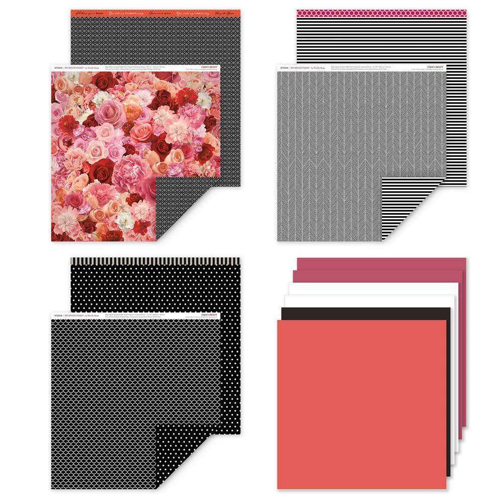 La En Vie Rose Paper Pack