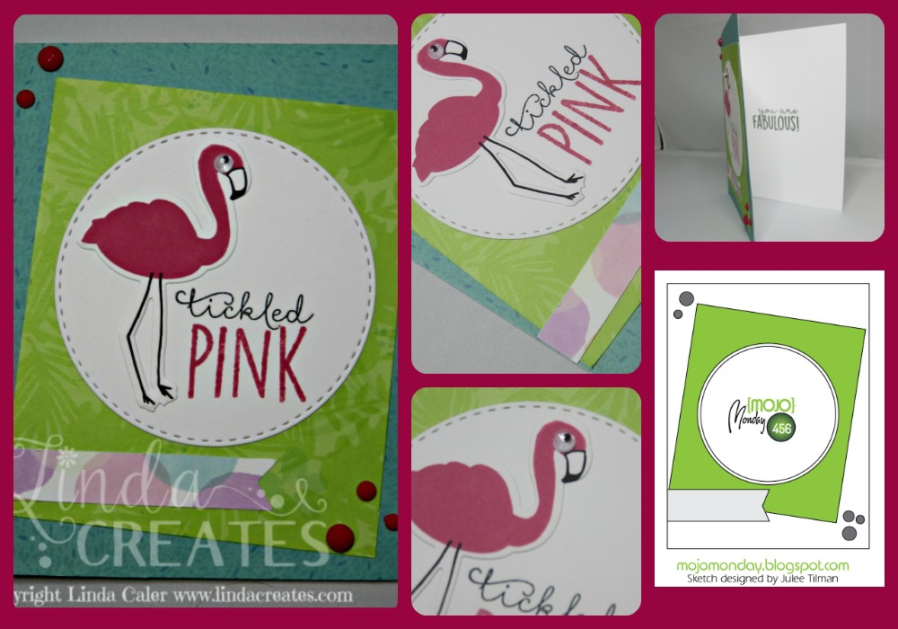 Tickled Pink Collage
