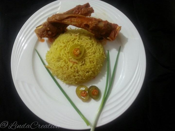 Mutton Kodi (Gravy) with Pulao