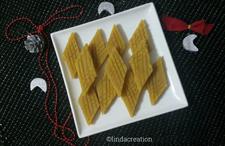 Channa Doce (Bengal Gram Fudge)