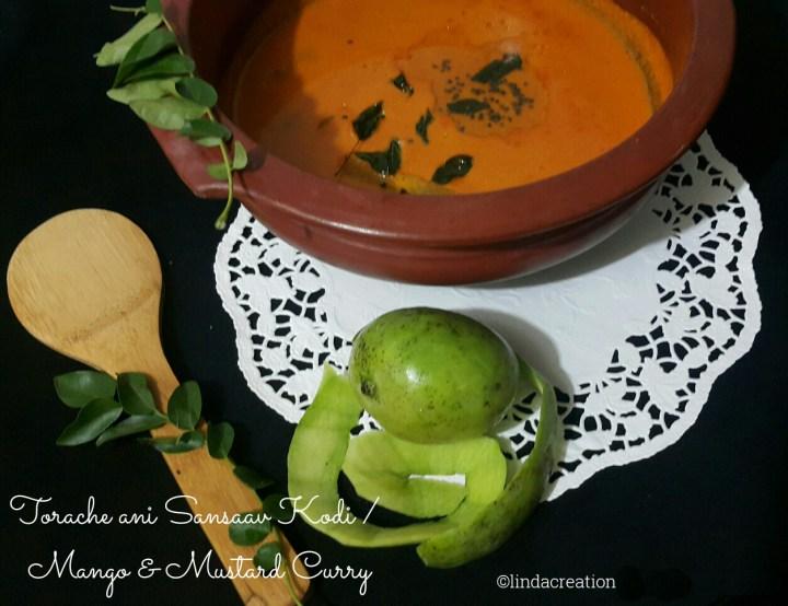 Torache ani Sansaav Kodi / Mango & Mustard Curry