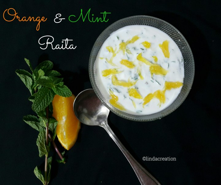 Orange &  Mint Raita