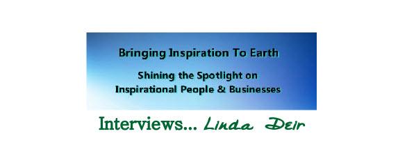 Bringing Inspiration to Earth – Robert Sharpe show interviews Linda Deir
