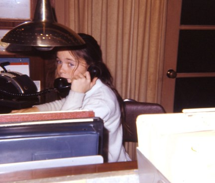 Linda on the phone with Alex, making plans to get out