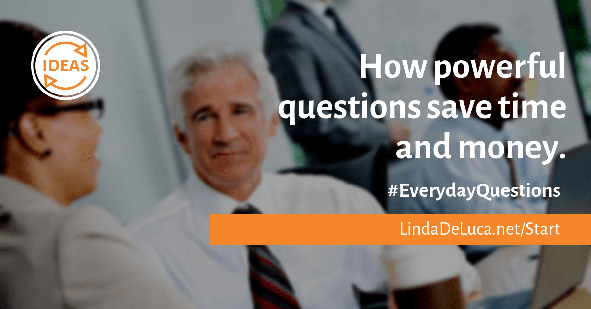 Lindadeluca.net asking powerful questions for your success