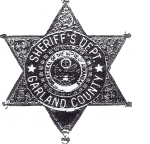 Garland County Sheriff Badge