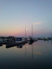 Moon over water 4