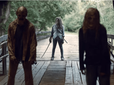 The Walking Dead midseason premiere recap: Unmasking the enemy