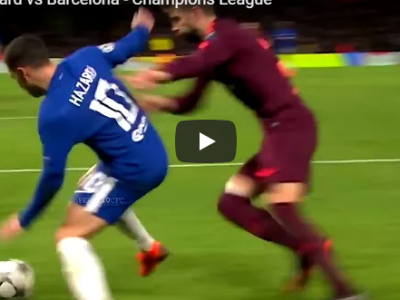 Eden Hazard vs Barcelona - Chelsea Golden Boy