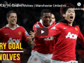 Manchester United 3 vs 2 Wolverhampton Wanderers | Premier League 18/19