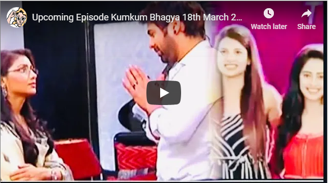 Today Episode Kumkum Bhagya 18th March 2019
