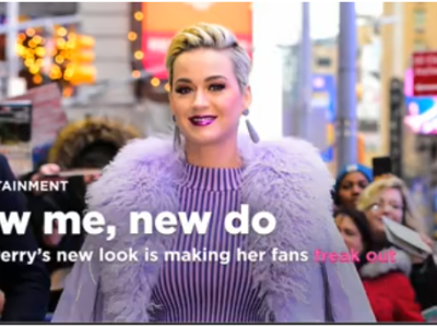 Katy Perry looks unrecoganizable and her fans are freaking out