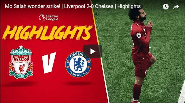 Mo Salah wonder strike! | Liverpool 2-0 Chelsea | Highlights