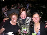 Jo Anne Shea, Dr. Glessner and Gisela Greco-Llamas at the UPCEA conference in Portland, Oregon.